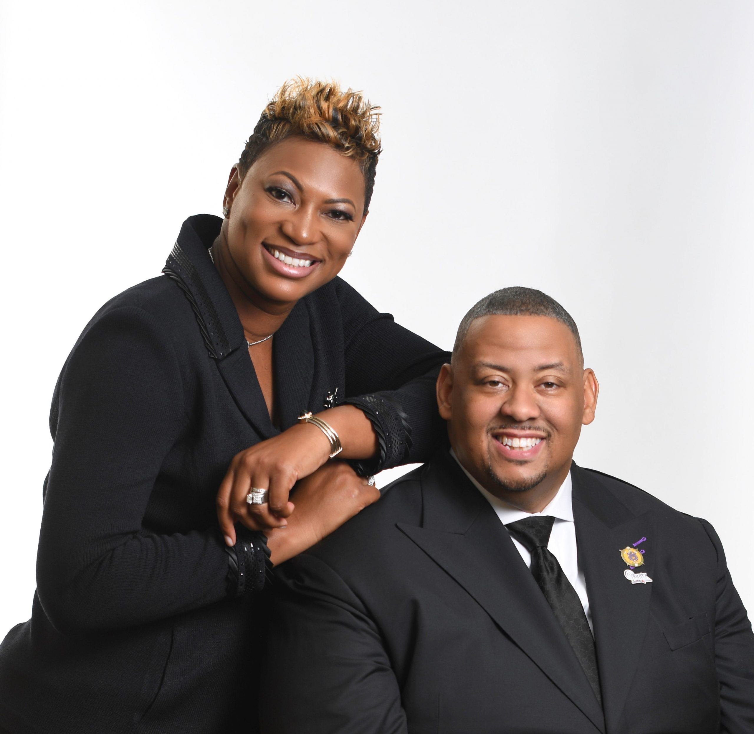 Dr. John D. Tolbert, Senior Pastor Ashley Tolbert, First Lady
